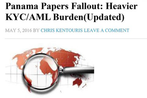Atlas Fund Services featured in FinOps Report: Panama Papers Fallout: Heavier KYC/AML Burden (Updated)